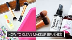 "How to clean your makeup brushes: I share two ways to clean your dirty makeup brushes quickly and effectively.  Let's chat in the comments xx DON'T FORGET TO SUBSCRIBE & CLICK ""SHOW MORE""   About Me: I am Debasree a beauty vlogger at  http://www.youtube.com/c/debasreebanerjee  and blogger at http://ift.tt/1RRR0WF You can holler me anytime @debasreee on my Instagram and Twitter.  Stalk me here:  Facebook http://ift.tt/1UctgRk Twitter https://twitter.com/debasreee Instagram…"