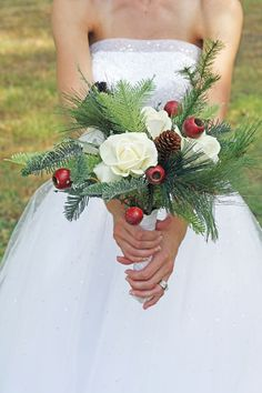 Security Check Required Christmas Wedding Bouquetswinter