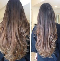 """Lusciously long hair! Get the look with 100% Remy Human Hair Extensions 