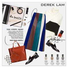 """The basics - Derek Lam"" by amaryllis ❤ liked on Polyvore featuring Deborah Lippmann, Prada, Derek Lam, Kate Spade and NARS Cosmetics"