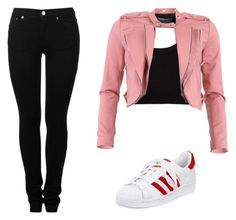 A fashion look from July 2016 featuring wool crop top, red biker jacket and back zip jeans. Browse and shop related looks. Calvin Klein Collection, Adidas, Shoe Bag, Polyvore, Stuff To Buy, Shopping, Design, Women, Fashion