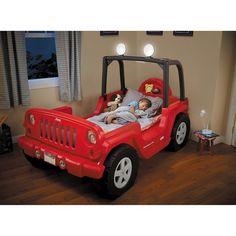 little tikes jeep bed decoration image ideas