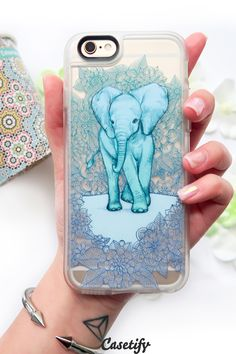 Click through to see more Elephant iPhone 6 phone case designs. Keep clam and love elephant! >>> https://www.casetify.com/collections/iphone-6s-elephant-cases#/?device=iphone-6s   @casetify