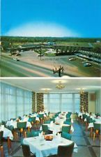 1960s CHROME: Quality Motel - Jackson, Murfreesboro, TN