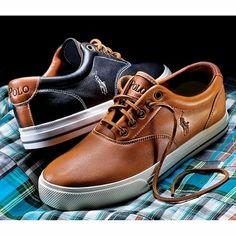 Ralph Lauren Polo Men s Leather Sneaker fe00c11c3cf7