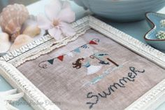 Sunny Days: Summer Time Inspired Cross Stitch Patterns