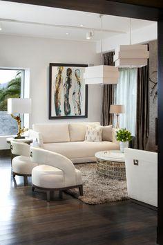 Adriana Hoyos Showroom #interiordesign #livingroom #pillows #sofa