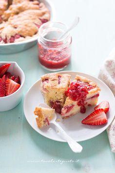 Torta soffice alle Fragole - Torta morbida alle fragole2