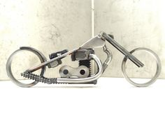Bike 135 scrap metal art sculpture | Flickr - Photo Sharing!