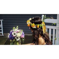 I'd rather wear flowers in my hair rather than diamond on my neck  See more pictures on #NowOrNeverMag (link in bio!) ||#Frolist @szk0131 || #Photographer @natade622 ||#Model @_liferary || #flowercrown #flowermagic #flowerandfashion #flowerstagram #crown #wedding #weddingideas #weddingparty #weddingdecor #gardenparty #フラワーアレンジメント #フラワー