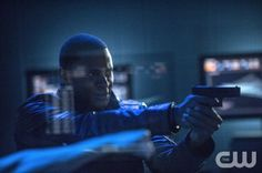 "Arrow -- ""Unthinkable"" -- Image AR223a_ 0191b -- Pictured: David Ramsey as John Diggle -- Photo: Cate Cameron/The CW -- © 2014 The CW Network, LLC. All Rights Reserved."