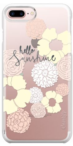 Casetify Protective iPhone 7 Plus Case and iPhone 7 Cases. Other Sun iPhone Covers - Hello Sunshine by Austeja Platukyte | Casetify