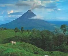 Arenal Volcano -Costa Rica ~ Can't wait to go there.