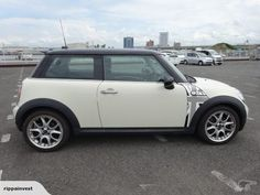 Mini Cooper S... cool paint also round rear licence plate
