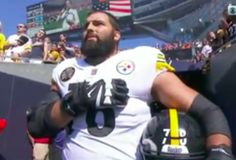 8bd411209 No Steelers were present for the national anthem except for former Army  Ranger LT Alejandro Villanueva stood near the tunnel. Steelers coach Mike  Tomlin ...