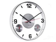 Karlsson Clock + Thermometer + Hygrometer