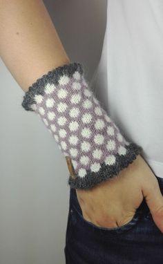 1 Paar Falten Muster Frauen Mädchen Stricken Arm Wärmer Handschuhe Winter Herbst Streifen Arm Handgelenk Ärmel Fäustlinge Modernes Design Bekleidung Zubehör