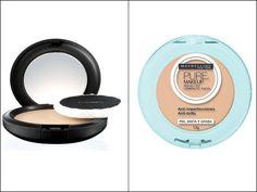 Pó compacto para dar aquela retocadinha e controlar a oleosidade da pele durante o dia. | 40 versões mais baratas de produtos de beleza que viraram hit