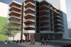 https://flic.kr/s/aHskdPzsDk   Residencial 197   Projeto de Arquitetura para Prédio Residencial Multifamiliar e Comercial na Rua do Catete 197, Rio de Janeiro, RJ.