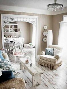 Fresh & neutral room
