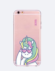 funda-movil-unicornio-cool-2 Cool, Phone Cases, See Through, Mobile Cases, Unicorns, Animales