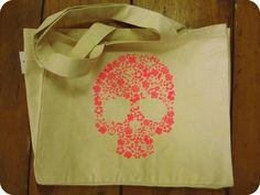 Local skull bag