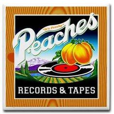 Peaches Records! I remember Peaches and Turtles as places where I bought all my records ~ also kept our albums in a Peaches crate :o) You could tell how much you loved music by how many you owned....we had EIGHT ~ 4 stacked on top of 4 :o) YUP.