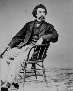 Matthew Brady, photographer of many of the Civil war photos that we see today.