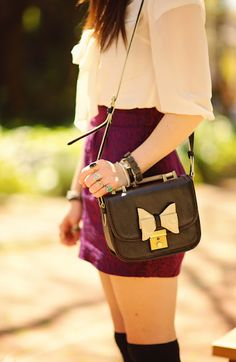 Bows and leather <3
