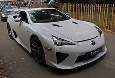 White+Lexus+LFA