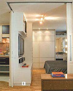 9 truques que fizeram milagre na reforma do apartamento de 36 m² - Casa