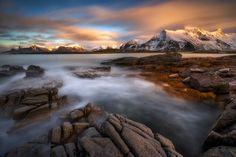 Flakstad Mountains - by Achim Sieger