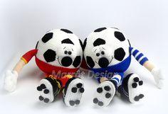 Marrot Design - Voetbalsupporter Neddy