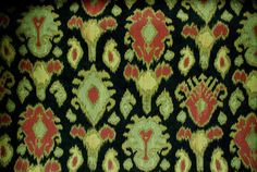 Kavo Ikat Fabric  Suitable for Upholstery, Drapery, and Bedding. Click the picture for more information and purchasing opportunities!