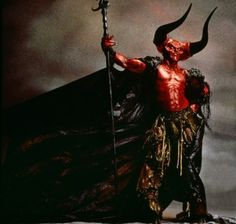 Tim Curry as 'Darkness' in Legend! He is the finest part of that movie....