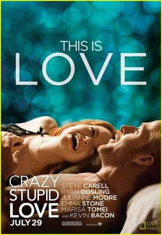 """""""I will never stop trying. Because when you find the one, you don't give up."""" Crazy Stupid Love <3"""
