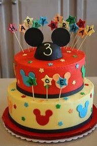 Mickey mouse party ideas -