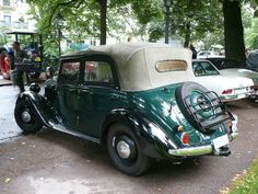 1938 Mercedes-Benz S 170 W136 Offener Tourenwagen Polizei - Allemagne