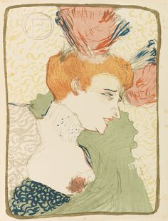 Toulouse-Lautrec, Cover of Pan, 1895-1899.