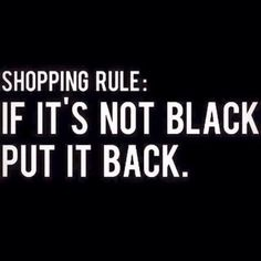 When Brianna shops with me, she tells me NOTHING black mother.