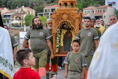 Στο ομώνυμο χωριό στην Πύλαρο, παρουσία πλήθους πιστών