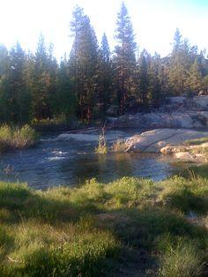 Shaver lake waterfall rancheria falls history and old for Febbre da cabina grande orso lago ca