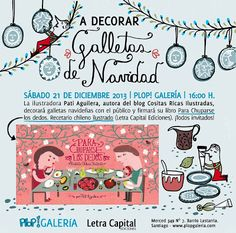 Cositas Ricas Ilustradas por Pati Aguilera Chilean Recipes, Chilean Food, Food Illustrations, Great Friends, Kitchen Recipes, Food Art, Christmas Time, Yummy Food, Aguilera