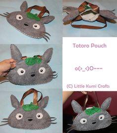 Totoro Pouch by vklolita