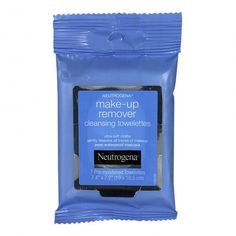 Neutrogena Makeup-Remover ⭐️⭐️⭐️⭐️⭐️⭐️⭐️ These make up wipes do work but they sting like heck if you get them anywhere near your eye. Which personally is the only reason I use makeup wipes, because I wash the rest of my makeup of when I cleanse.