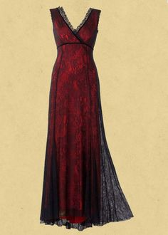 Michal Negrin lace evening dress. The shape of this dress is perfect. I love the layers.