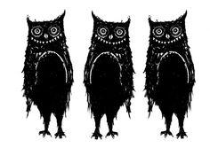Here be monsters, Print 30x42 cm p Nordic Design Collective konst-hantverk