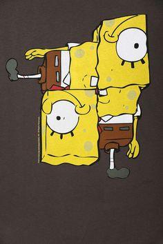 Junk Food Spongebob Puzzle Tee