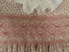 Smock, Sew and Be Merry: Pretty in Pink Smocking Plates, Smocking Patterns, Hand Embroidery, Machine Embroidery, Smocking Tutorial, Chicken Scratch, Heirloom Sewing, Little Girl Fashion, Clothing Patterns