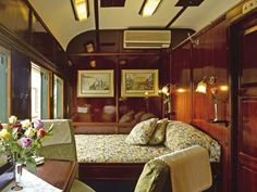 The Blue Train - SOUTH AFRICA.   Luxury travel from Cape Town to Johannesburg.